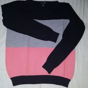 Black and pink sweater